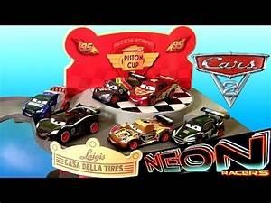 Cars2 Neon Metallic Racers 2014 Diecast plete