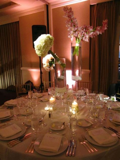 cotton candy pink centerpieces weddingbee photo gallery