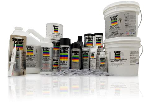 Grease, Oil, And Silicone Lubricants