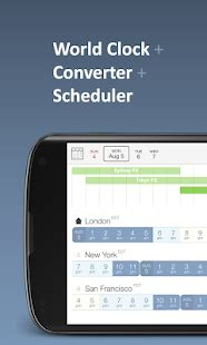 time buddy clock converter android apps google play