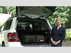 2010 Mercedes GLK Cargo Capabilities YouTube