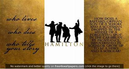 Hamilton Musical Wallpapers Wallpaperplay Quotes Aesthetic Desktop