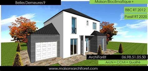 maison bois 224 toiture zinc 224 4 pentes ou mansart et mansard par votre architecte constructeur