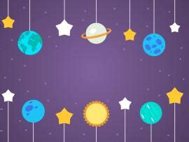 dream  space backgrounds  powerpoint templates