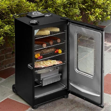smoker masterbuilt electric digital 40 inch portable smokers window cooking remote controlled grill controller bbq gas vs smoking wood ribs