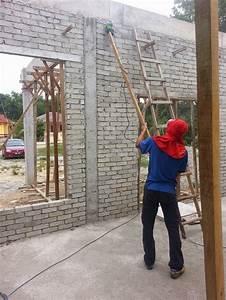 Pengalaman Bina Rumah Sendiri  8  Pasang Konduit Dan