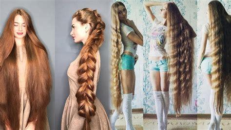 people  ridiculously long hair   beautiful