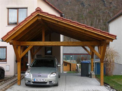 Zimmerei & Holzbau Kliemt Referenzen Carports