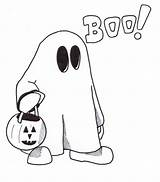 Ghost Pages Coloring Halloween Printable Clipart Cartoon Drawing Drawings Children Cute Sheet Clip Holy Cliparts Simple Outline Clipartmag Scary Library sketch template