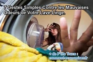 Lave Linge Odeur Egout : 7 gestes simples contre les mauvaises odeurs de votre lave linge ~ Melissatoandfro.com Idées de Décoration