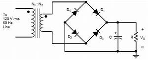 Confusion In Deriving Ripple Voltage For An Unregulated