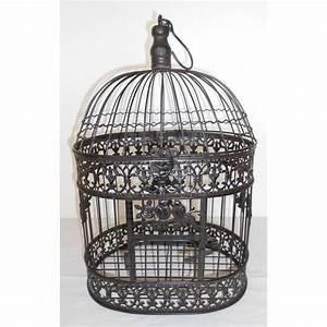 Cage Oiseau Deco : cage oiseau fer forge deco visuel 1 ~ Teatrodelosmanantiales.com Idées de Décoration