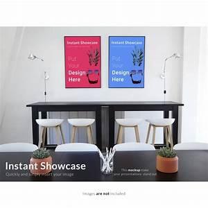 Bilder An Der Wand : bunte bilder an der wand mock up download der ~ Lizthompson.info Haus und Dekorationen