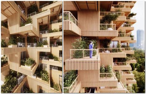creative bathroom ideas wooden 18 storey housing estate to be built in toronto