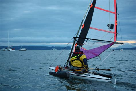 Trimaran Inside Passage by Adventure Boats Race To Alaska Boats