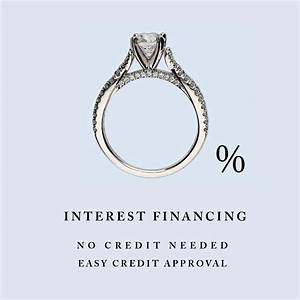 no credit needed financing engagement ring financing With no credit check wedding ring financing