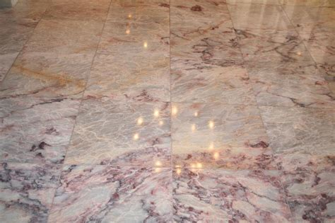 marble3 floor polishing orange travertine marble slate