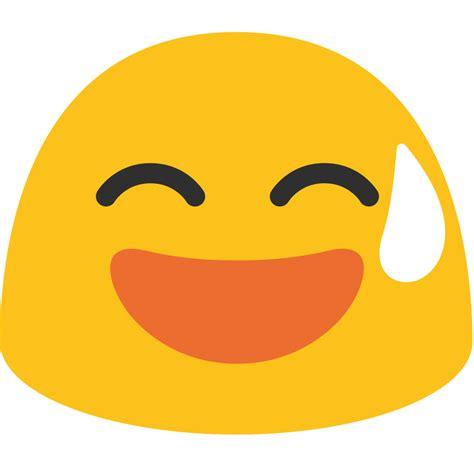 free emoji file emoji u1f605 svg wikimedia commons