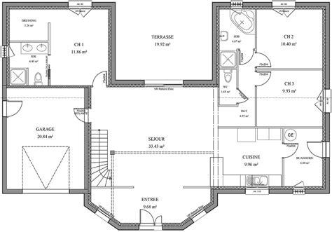 plan maison 5 chambres fabulous nos maisons plans poitiers plan maison en bois