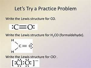 Lewis Structures of Molecular Compounds, Resonance and ...