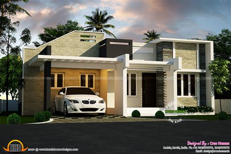 contemporary house plans single 3 beautiful small house plans kerala home design and