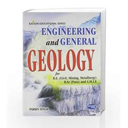 engineering  general geology  parbin singh buy