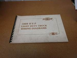 1989 Chevrolet Suburban R  V P Electrical Wiring Diagrams
