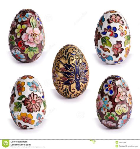 decorative easter eggs decorative antique easter eggs stock images image 23883194