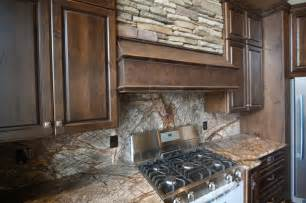 forest web mahogany marble backsplash rustic kitchen cleveland by architectural justice