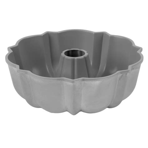 stick aluminum fluted bundt cake pan  cup capacity