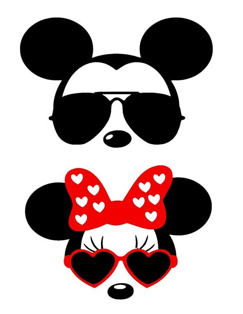 See more ideas about free svg, svg, cricut crafts. Mickey Head With Sunglasses Svg | David Simchi-Levi