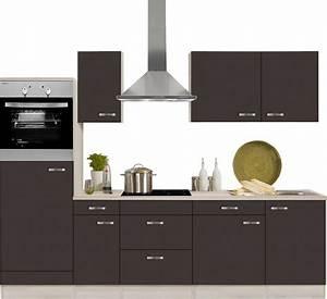 Küche Günstig Kaufen Mit Elektrogeräten : optifit k chenzeile mit e ger ten faro breite 270 cm ~ Watch28wear.com Haus und Dekorationen