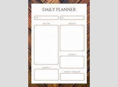 Customize 94+ Daily Planner templates online Canva