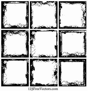 Grunge Frame Vector Free Download, vector graphic - 365PSD.com