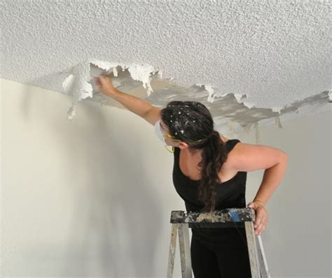removal of popcorn ceiling the of popcorn ceiling removal centsational