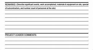 Daily Construction Report Template  U2013 25  Free Word  Pdf