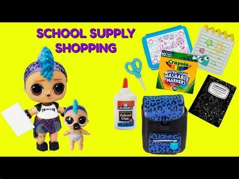 punk boi  school supply shopping dinosaur scare