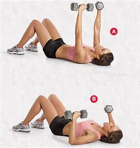 exercise of the week dumbbell floor press eunicakes With dumbell press on floor