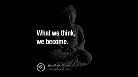 buddha quotes buddhism anger zen quote think become enlightenment gautama religion inspirational management salvation geckoandfly