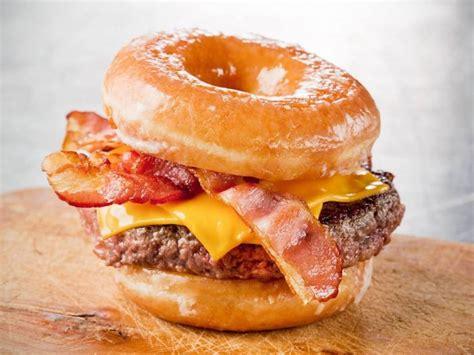 Glazed Donut Burger Recipe - The Burger Guide