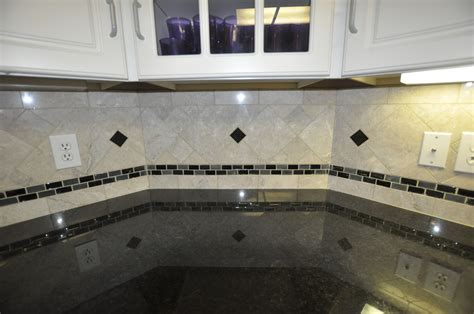 glass kitchen tile backsplash ideas black countertops with backsplash this kitchen