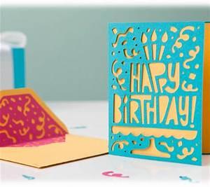 Project Center - Cricut Mini - Celebrate Card and Envelope
