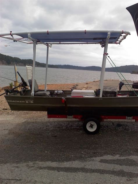 Diy Boat Bimini by Arkansas Ingenuity Need Is The Motherhood Of Invention