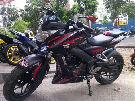 Modifikasi Motor Bajaj Pulsar 200ns by Kumpulan Foto Modifikasi Motor Kawasaki Bajaj Pulsar 200ns