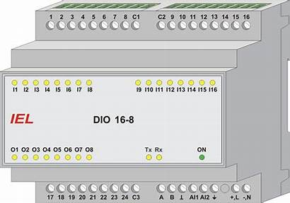 Input Output Unit Dio Iel Digital Monitoring