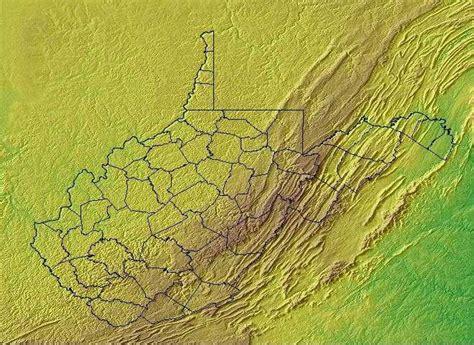 West Virginia Geography West Virginia Regions And Landforms