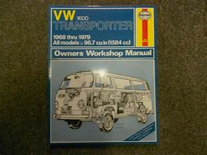 1968 1979 Vw 1600 Transporter All Models Owners Service