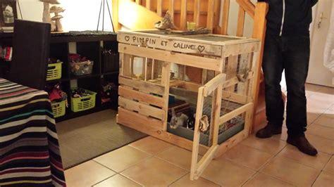 mieux quune cage  lapins la cabane  lapins en palettes