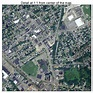 Aerial Photography Map of Wakefield, MA Massachusetts