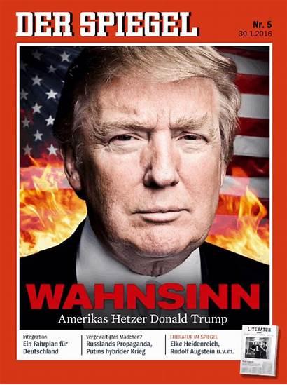 Spiegel Der Trump Donald Magazine German Flames